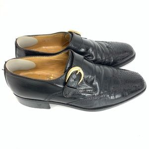 Vintage Bespoke side buckle wingtips made in Italy